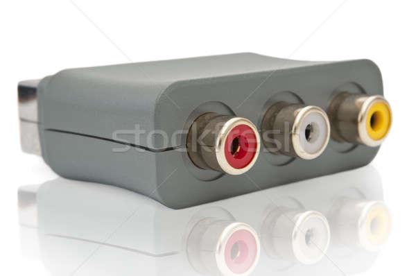 Scart adaptor Stock photo © 72soul