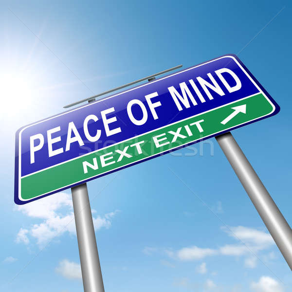 Peace of mind. Stock photo © 72soul