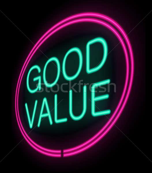 Value for money. Stock photo © 72soul