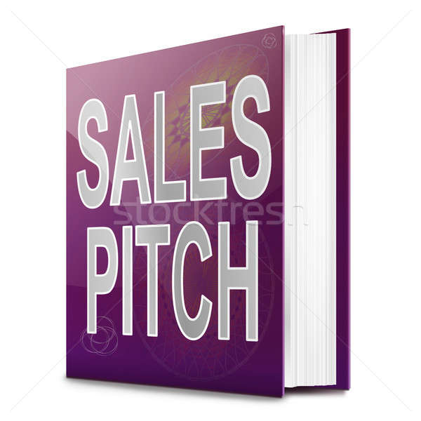 Sales pitch book. Stock photo © 72soul