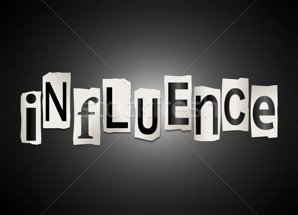 Influence concept. Stock photo © 72soul