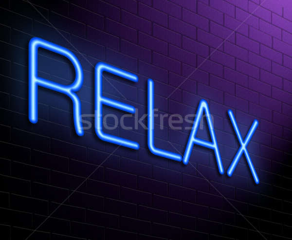Relax concept. Stock photo © 72soul