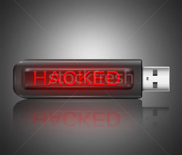Hacked concept. Stock photo © 72soul