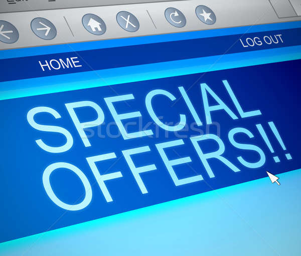 Special offers concept. Stock photo © 72soul