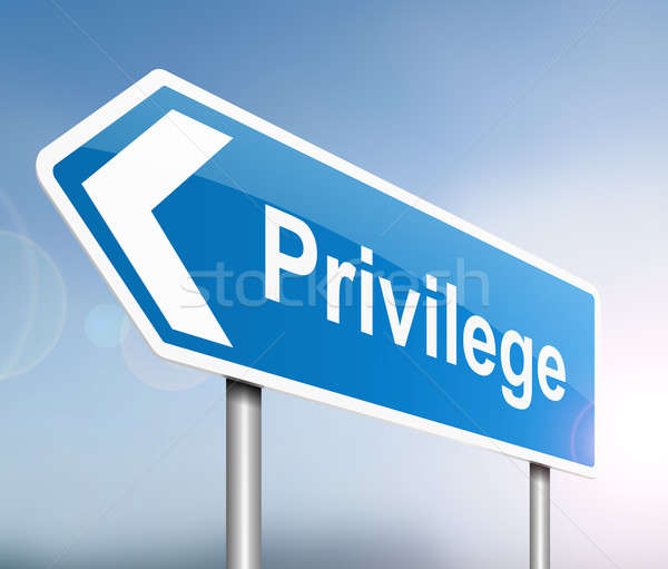 Privilege concept. Stock photo © 72soul