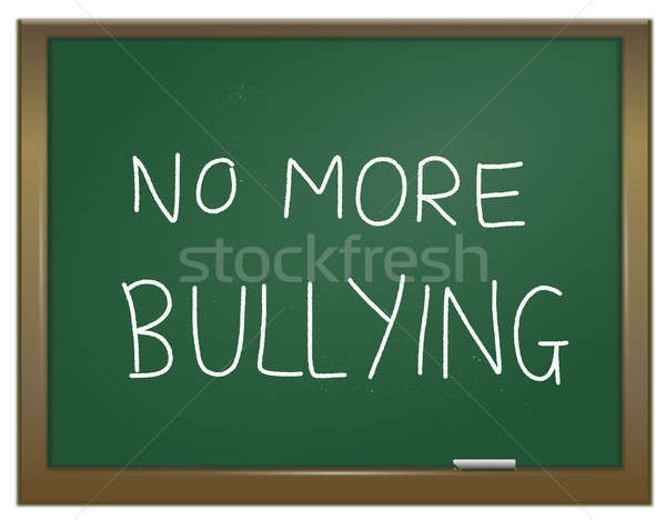 Stamp out bullying. Stock photo © 72soul