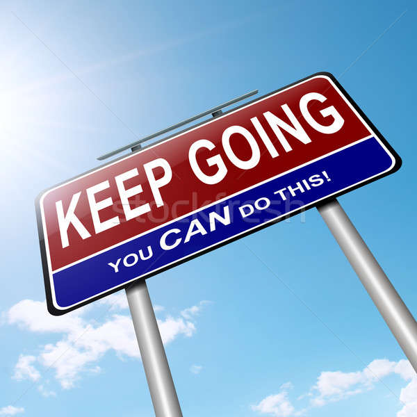Motivational message. Stock photo © 72soul