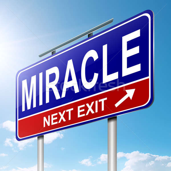 Miracle concept. Stock photo © 72soul