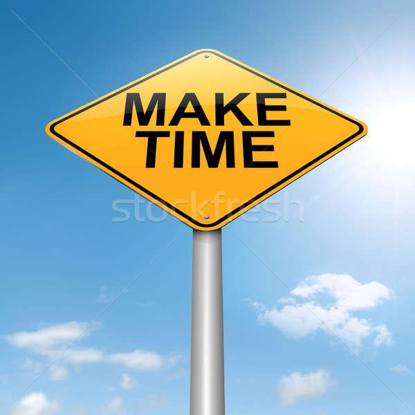 Make time concept. Stock photo © 72soul