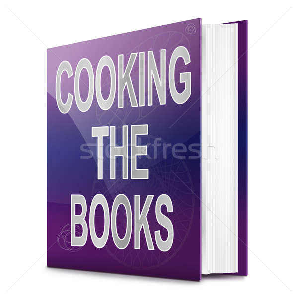 Cooking the books concept. Stock photo © 72soul