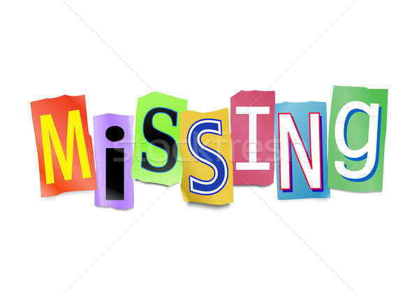 Missing concept. Stock photo © 72soul
