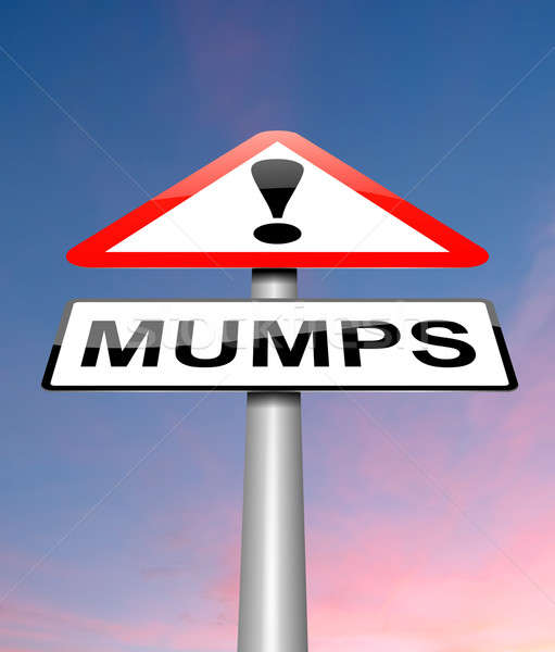 Mumps concept. Stock photo © 72soul
