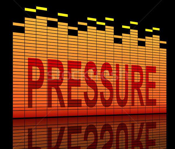 Pressure concept. Stock photo © 72soul