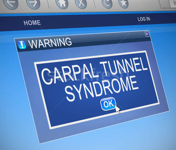 Carpal Tunnel Syndrome concept. Stock photo © 72soul