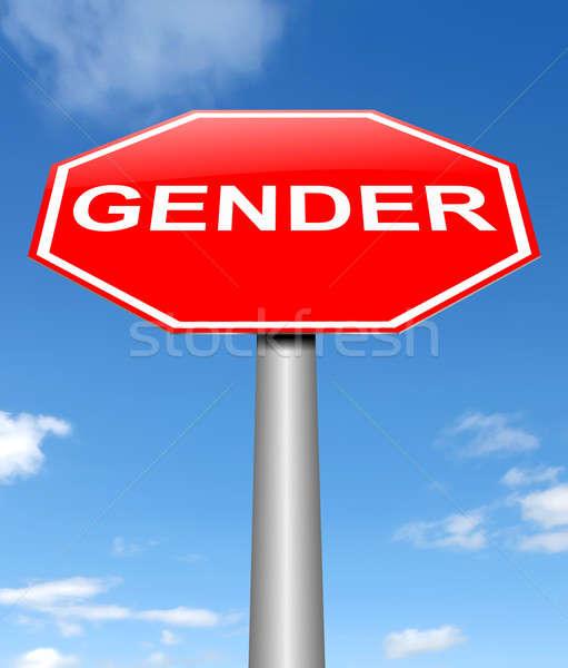 Gender sign concept. Stock photo © 72soul