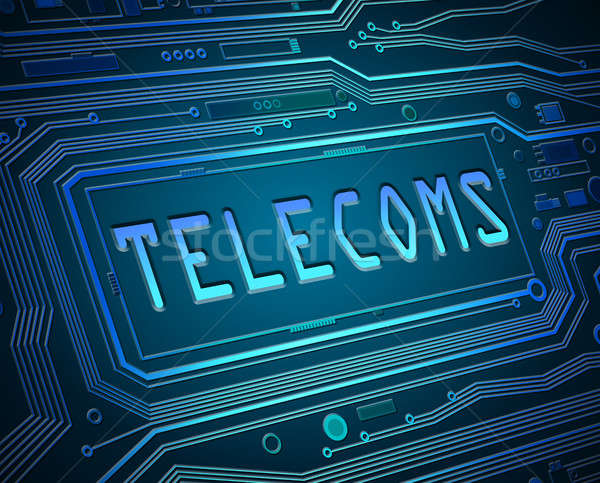 Abstract telecoms concept. Stock photo © 72soul