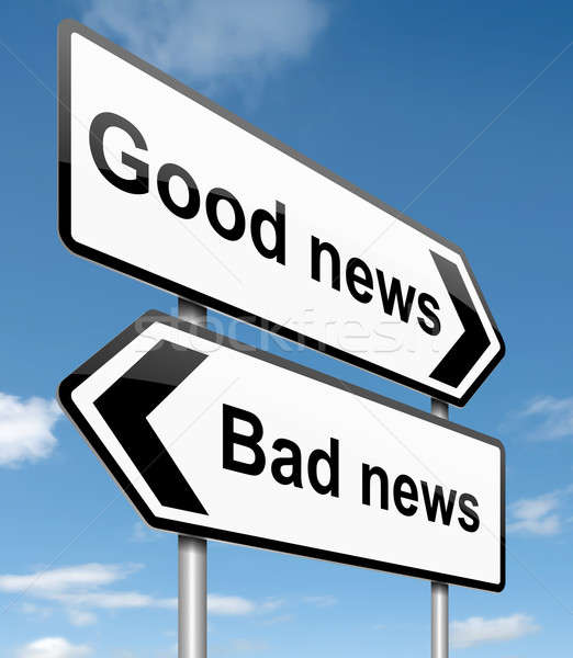 Good or bad news. Stock photo © 72soul