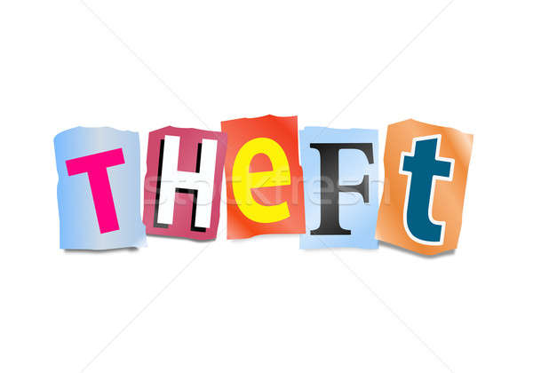 Theft concept. Stock photo © 72soul