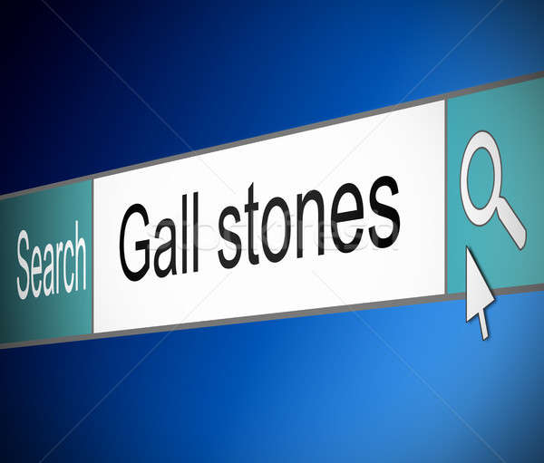 Gall stones concept. Stock photo © 72soul