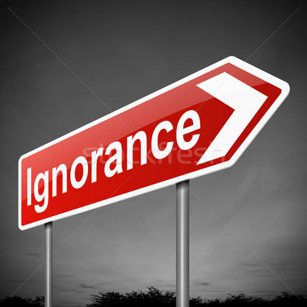 Ignorance concept. Stock photo © 72soul