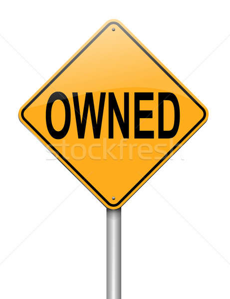 Owned concept. Stock photo © 72soul