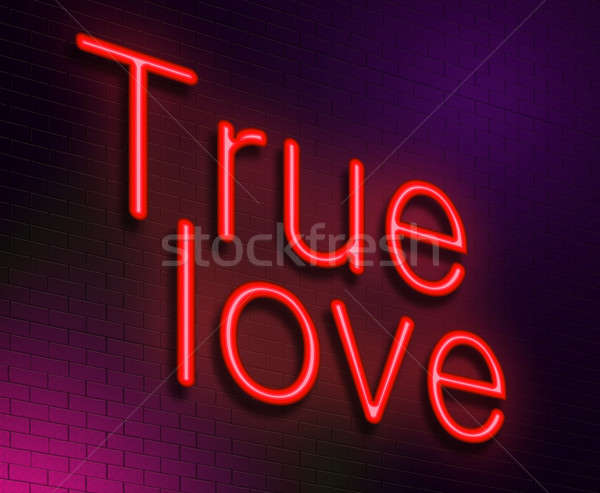 True love concept. Stock photo © 72soul