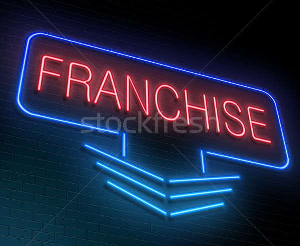 Franchise concept. Stock photo © 72soul