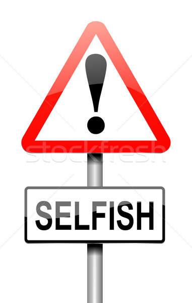Selfish concept. Stock photo © 72soul