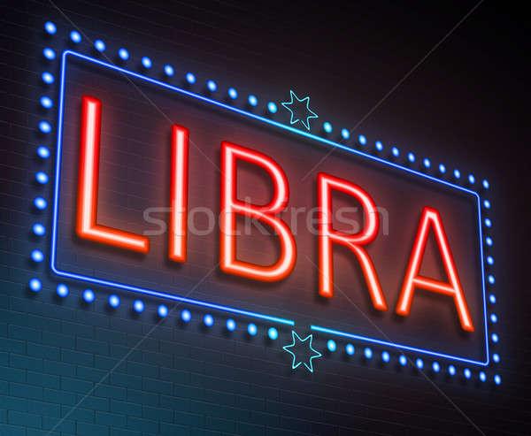 Libra sign concept. Stock photo © 72soul
