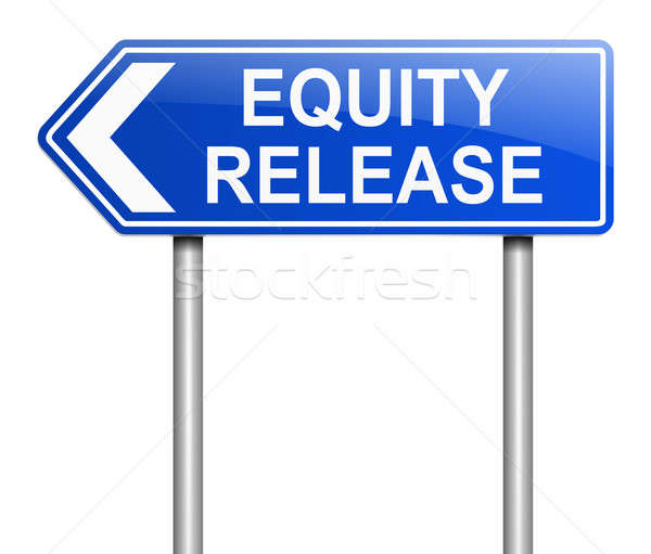Equity release concept. Stock photo © 72soul