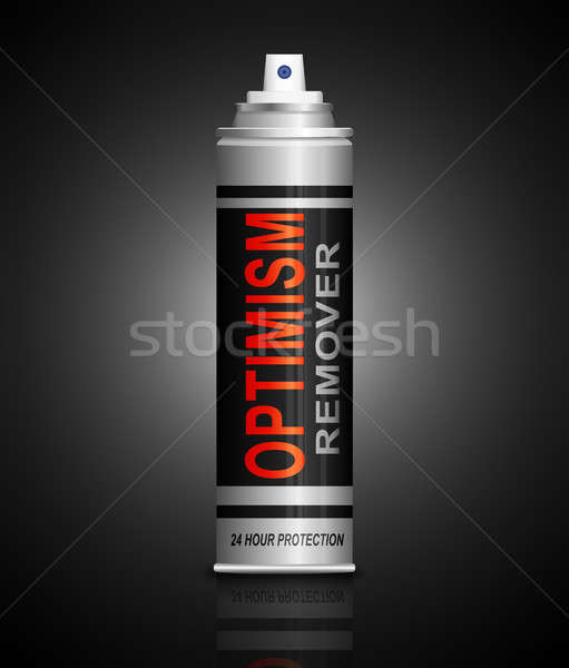Optimism remover concept. Stock photo © 72soul