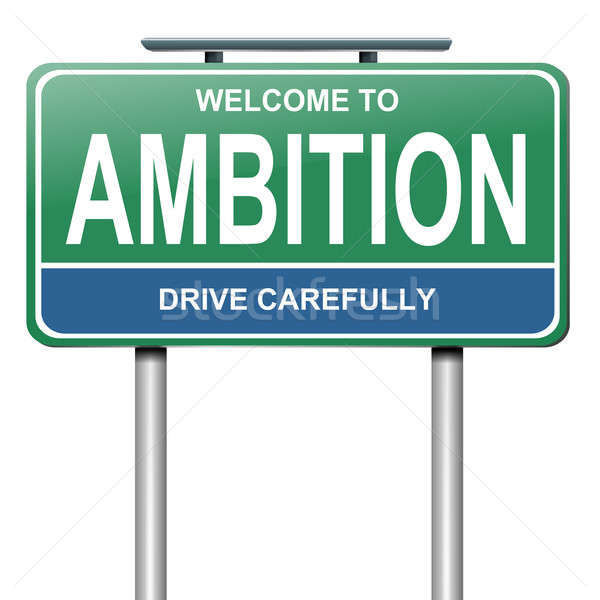 Ambition concept, Stock photo © 72soul