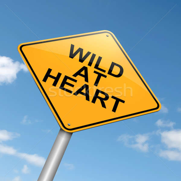 Wild at heart. Stock photo © 72soul