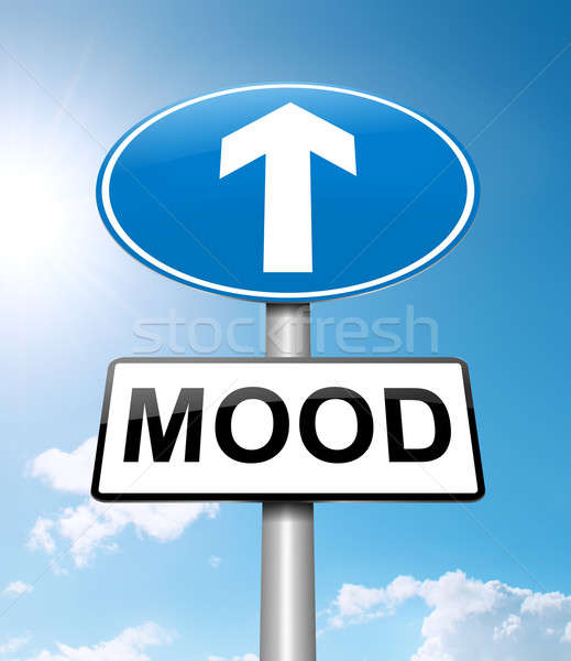 Mood lift. Stock photo © 72soul