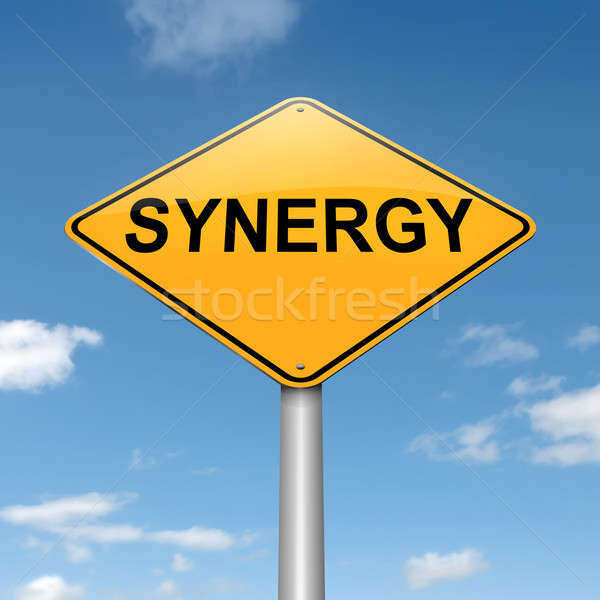 Synergy concept. Stock photo © 72soul