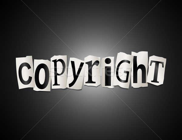 Copyright concept. Stock photo © 72soul