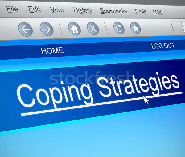 Coping strategies concept. Stock photo © 72soul