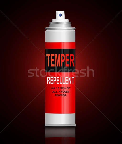 Temper concept. Stock photo © 72soul
