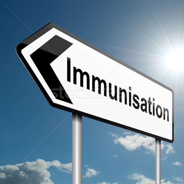 Immunisation concept. Stock photo © 72soul