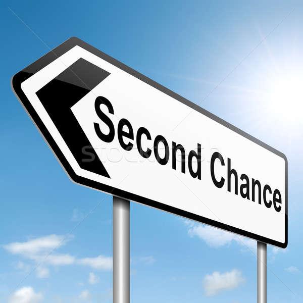Second chance concept. Stock photo © 72soul