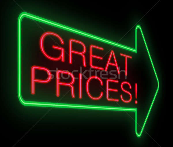 Great prices concept. Stock photo © 72soul