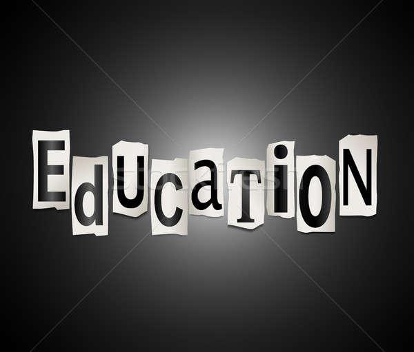 Education concept. Stock photo © 72soul