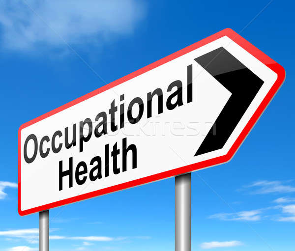 Occupational Health concept. Stock photo © 72soul