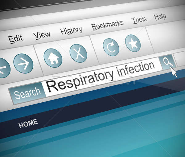 Respiratory infection concept. Stock photo © 72soul