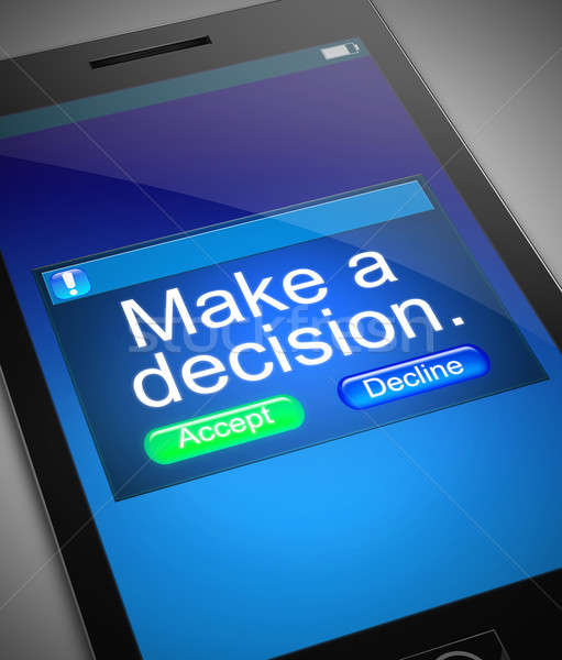 Decision making concept. Stock photo © 72soul
