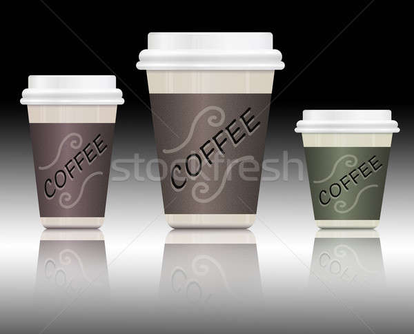 Coffee containers. Stock photo © 72soul