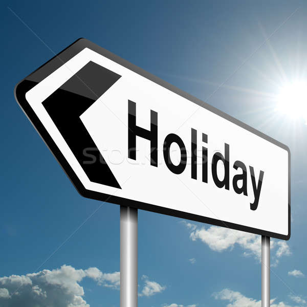 Time for a holiday. Stock photo © 72soul
