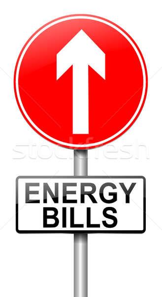 Energy bills concept. Stock photo © 72soul