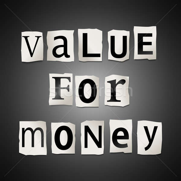 Value for money. Stock photo © 72soul