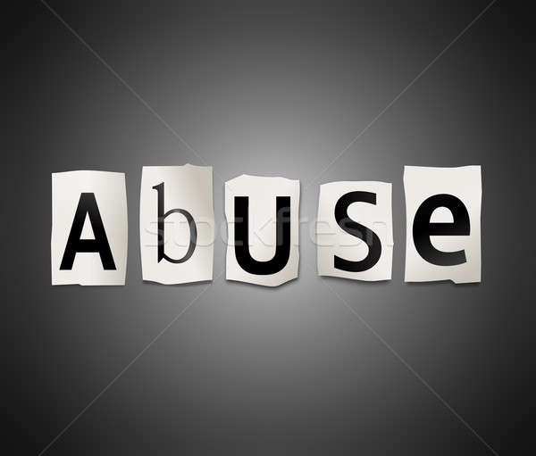 Abuse concept. Stock photo © 72soul